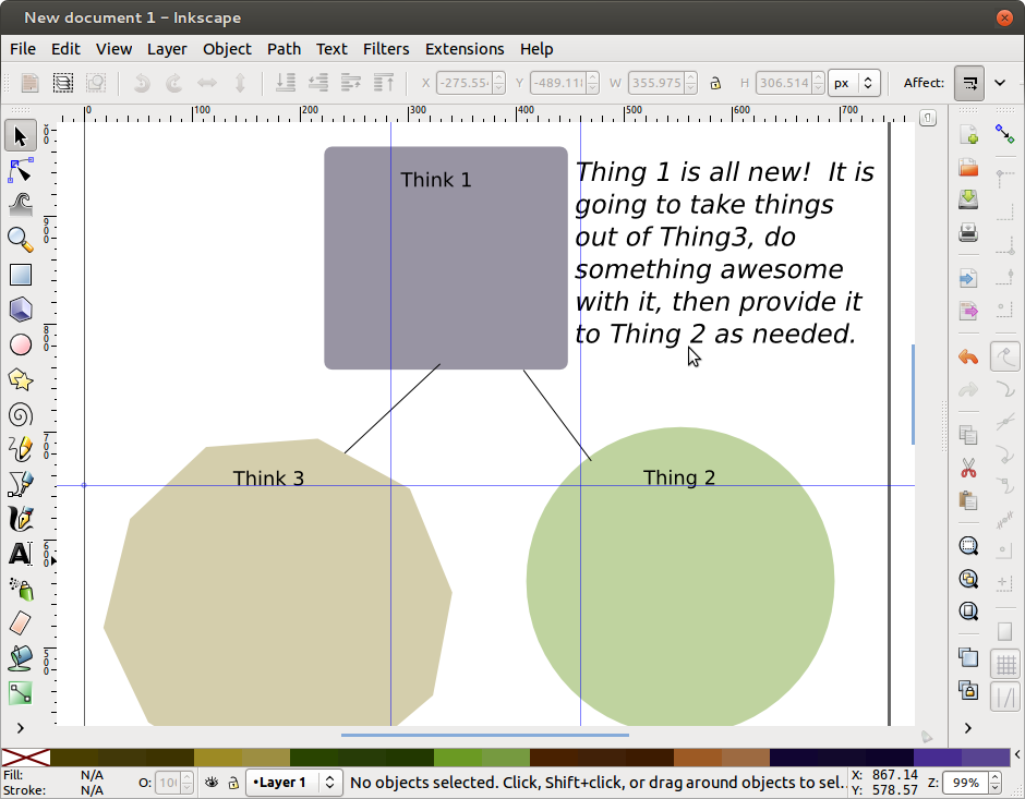 10 tips for better diagrams in inkscape lightcastle technical tip ccuart Image collections